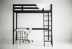 platzsparendes bett vergleich 2017 top5. Black Bedroom Furniture Sets. Home Design Ideas