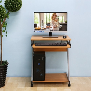 Schreibtisch Platzsparend Homfa
