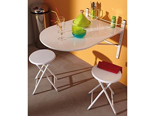 Bekannt ▷ Platzsparender Esstisch - Wandtisch Flora ++ Platzsparende Möbel FA63