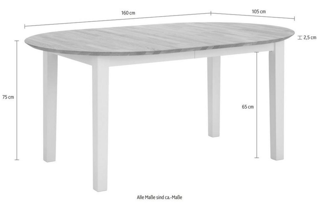 platzsparender tisch ausziehbar time. Black Bedroom Furniture Sets. Home Design Ideas