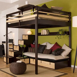 kleines schlafzimmer kein problem 7 tipps zum. Black Bedroom Furniture Sets. Home Design Ideas